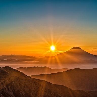 Tierra, Sol y Luna: el cielo, el día y la noche