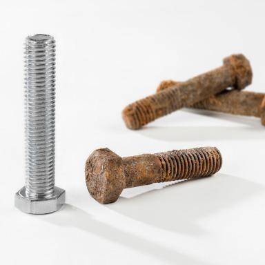 Oxidación y corrosión: transformar materiales